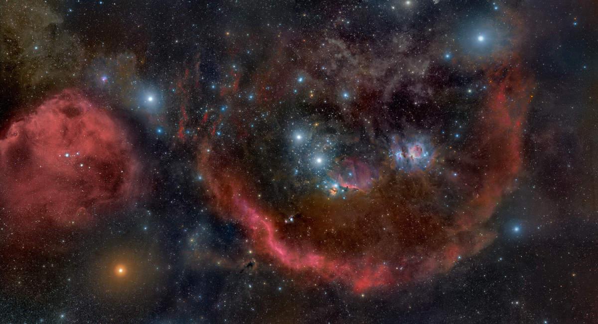 Далеко в космосе